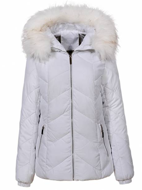 Women's Woven Thick Parka