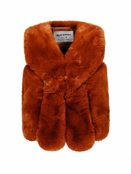 Girls' Fur Waistcoat