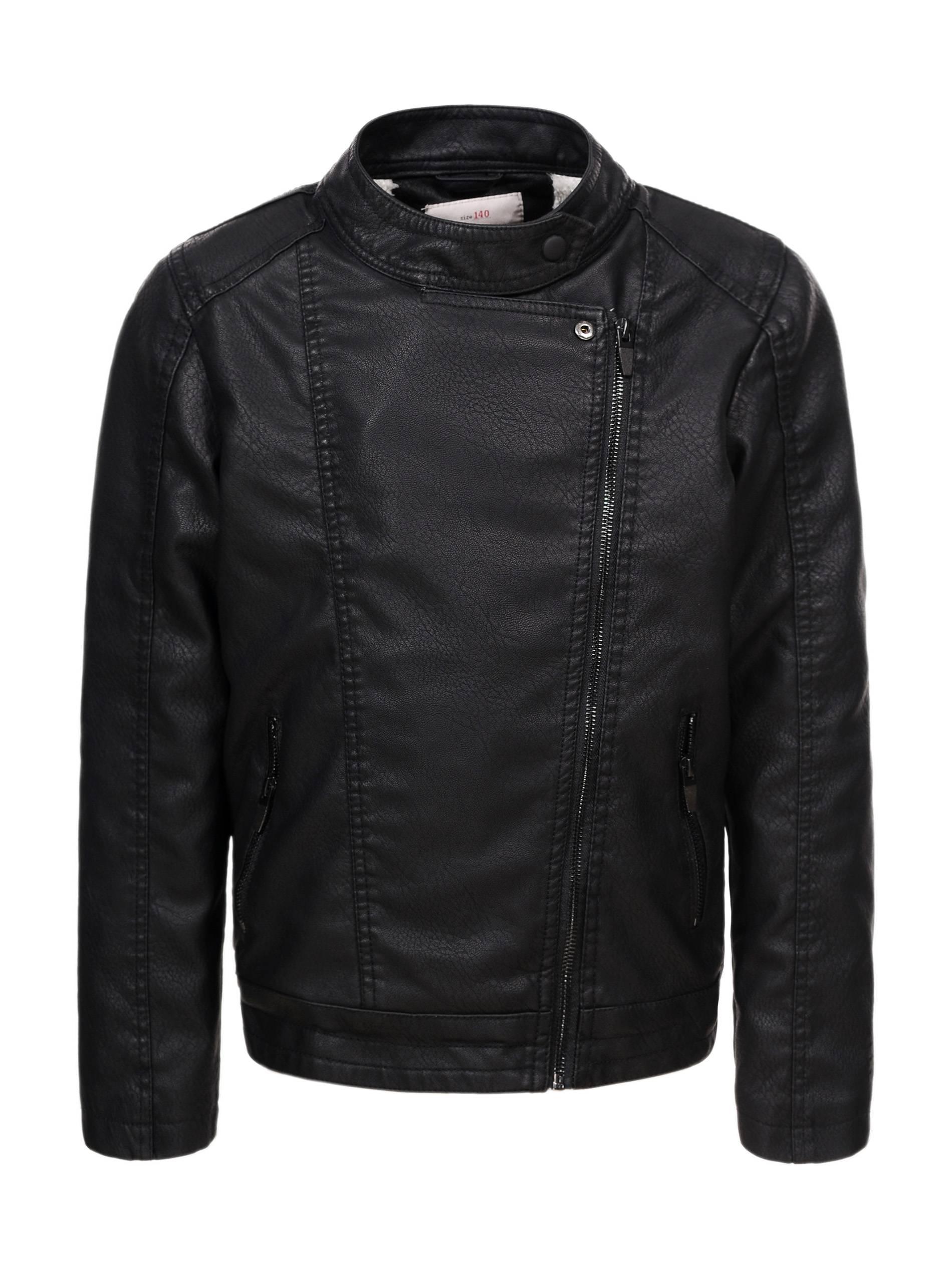 169369237 Boys' Leather Jacket - BPY-7442