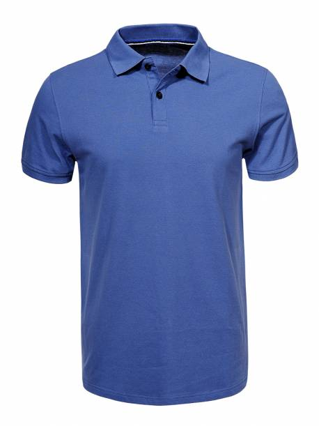 Men's Knitted Short Sleeve Polo Shirt
