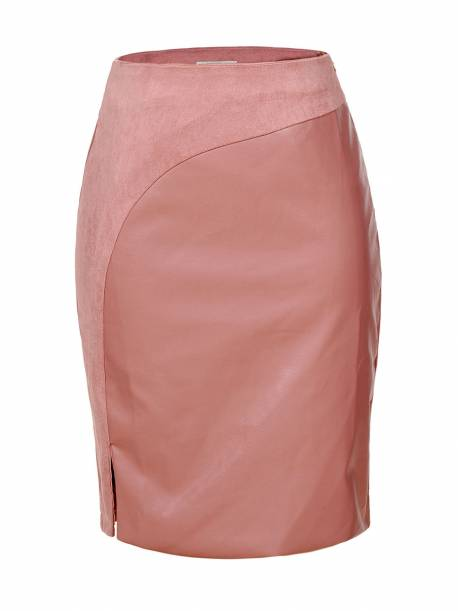 Women's PU Skirt