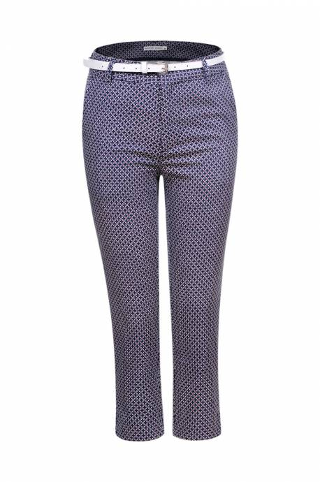 Women's Woven Cropped Trousers
