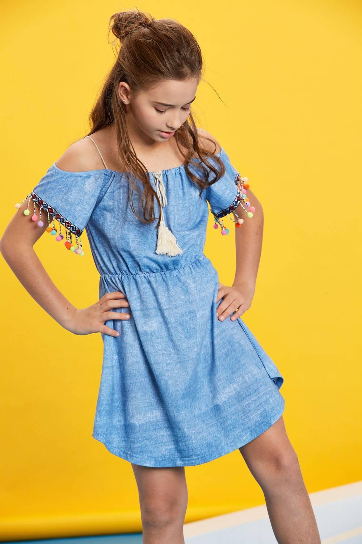 Chair Marty Fielding Deadlock  Girls' Knitted Dress