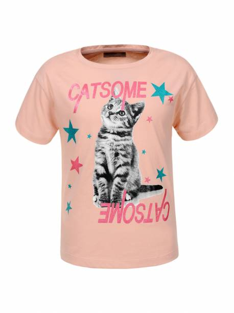 Girls' Knitted T-Shirt