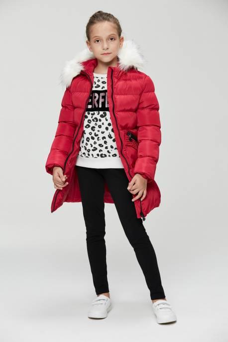 Girls' Woven Coat