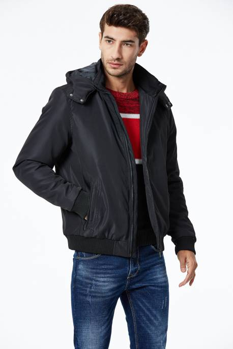 Men's Woven Thick Coat