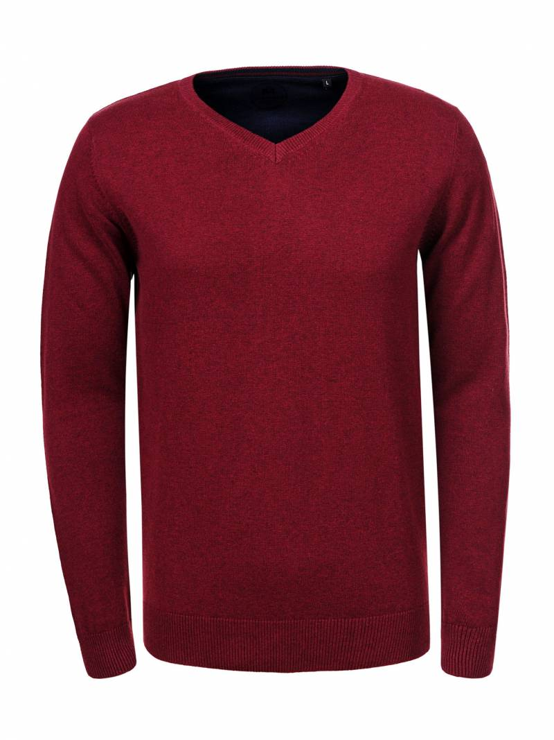 Men's Knitted Long Sleeve Sweater
