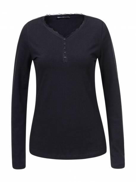 Women's Knitted Long Sleeve T-shirt