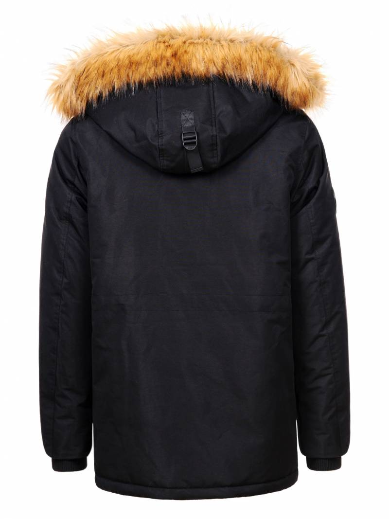 Plus size Men's Hooded Thick Coat