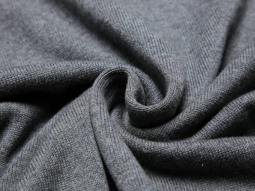 Men's knit sweater-Grey