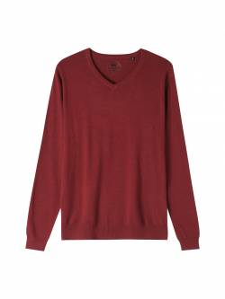 Men's knit sweater-M.dk.red