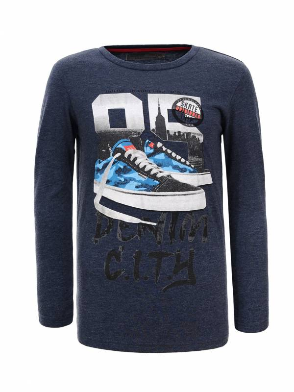 Boys' long sleeve T-shirt