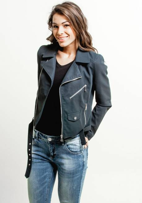 Women's PU jacket